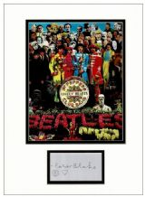 Peter Blake Autograph Display - Sgt Pepper's